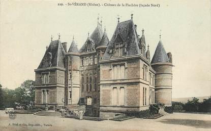 """CPA FRANCE 69 """"Saint Vérand, Château de la Flachère"""""""