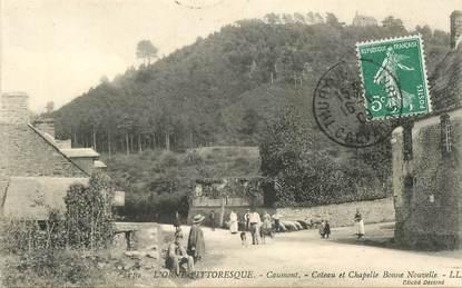 """CPA FRANCE 14 """"Caumont, coteau et chapelle Bonne Nouvelle"""""""