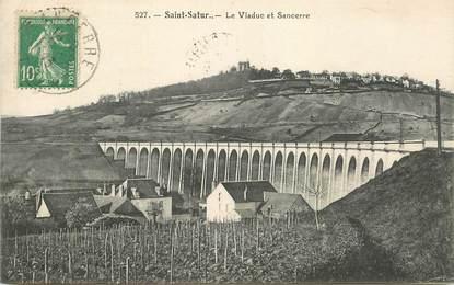 """CPA FRANCE 18 """"Saint Satur, le viaduc"""""""