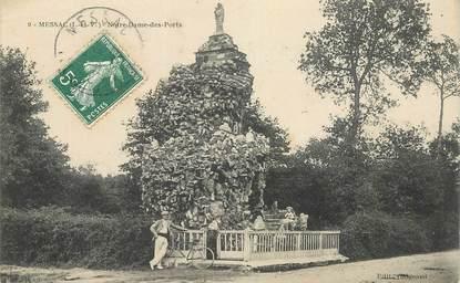 """CPA FRANCE 35 """"Messac, Notre Dame des Ports"""""""