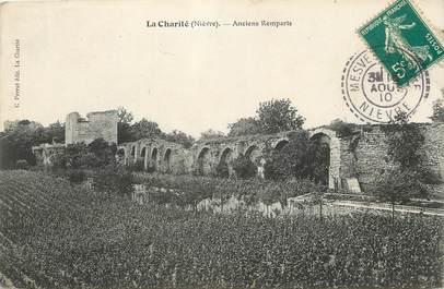 """/ CPA FRANCE 58 """"La Charité, anciens remparts"""""""
