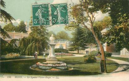 "/ CPA FRANCE 41 ""Blois, le square Victor hugo"""