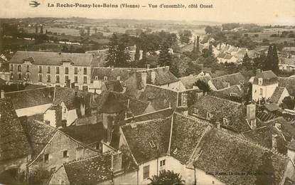 """CPA FRANCE 86 """"La Roche Posay les Bains, vue d'ensemble, côté ouest"""""""