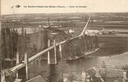"CPA FRANCE 86 ""La Roche Posay les Bains, Rte de Preuilly"""