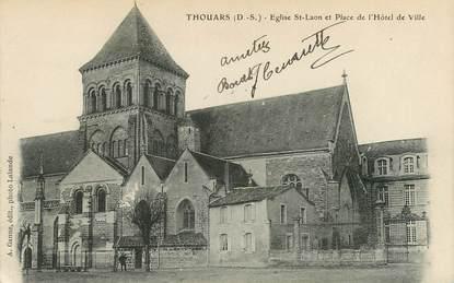 "CPA FRANCE 79 ""Thouars, Eglise Saint Laon"""