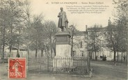 "51 Marne / CPA FRANCE 51 ""Vitry le François, Statue Royer Collard"""