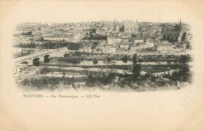 """/ CPA FRANCE 86 """"Poitiers, vue panoramique"""""""