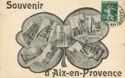 """CPA FRANCE 13 """"Souvenir d'Aix en Provence"""""""