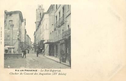 """CPA FRANCE 13 """"Aix en Provence, la rue Espariat"""""""