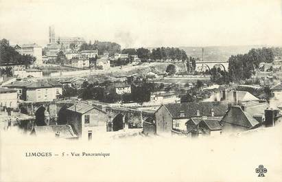 "/ CPA FRANCE 87 ""Limoges, vue panoramique """