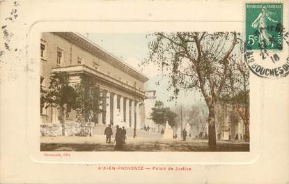 """CPA FRANCE 13 """"Aix en Provence, palais de justice"""""""