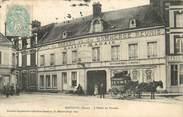 """27 Eure / CPA FRANCE 27 """"Breteuil, l'hôtel du paradis"""" / ATTELAGE"""