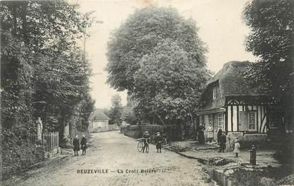 """/ CPA FRANCE 27 """"Beuzeville, la croix Brière"""""""