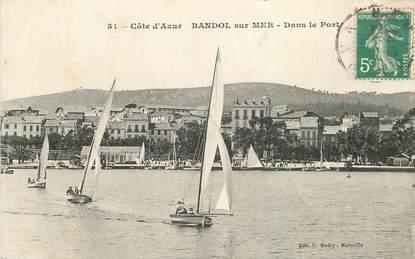 """CPA FRANCE 83 """"Bandol, dans le port"""""""