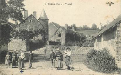 "CPA FRANCE 18 ""Vailly, Valeroy"""