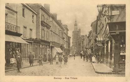 "/ CPA FRANCE 27 ""Bernay, rue Thiers"""