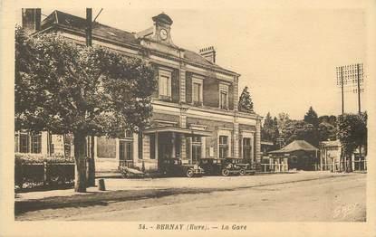 """/ CPA FRANCE 27 """"Bernay, la gare"""""""