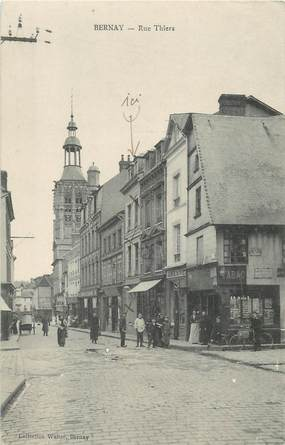 """/ CPA FRANCE 27 """"Bernay, rue Thiers """""""