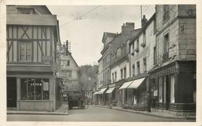 "/ CPSM FRANCE 27 ""Bernay, rue Gaston Follope"" / USAGE TARDIF"