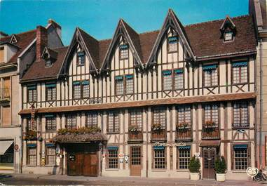 """/ CPSM FRANCE 27 """"Evreux, Hôtel restaurant Normandie"""""""