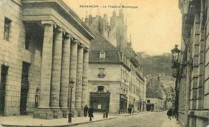 """CPA FRANCE 25 """"Besançon, le Théâtre municipal"""""""