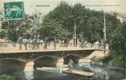 """18 Cher CPA FRANCE 18 """"Bourges, pont sur l'Yèvre, avenue de la gare"""""""
