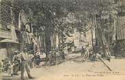 """83 Var CPA FRANCE 83 """"Le Luc, La Place aux Herbes"""""""