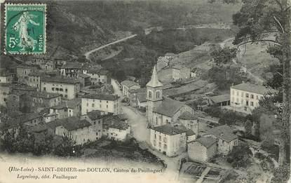 """CPA FRANCE 43 """"Saint Didier sur Doulon, canton de Paulhaguet"""""""