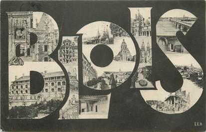 """CPA FRANCE 41 """"Blois"""" / Nom de la ville"""