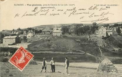 """CPA FRANCE 43 """"Saint Front, vue prise du chemin du lac"""""""