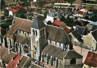 """/ CPSM FRANCE 77 """"Rozay en Brie, l'église côté abside"""""""