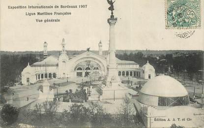"CPA FRANCE 33 ""Bordeaux, Exposition internationale 907"""