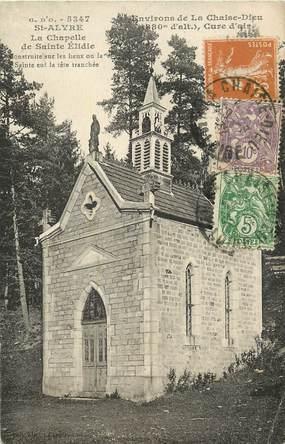 """CPA FRANCE 43 """"Saint Alyre, la chapelle de Saint Elidie"""""""