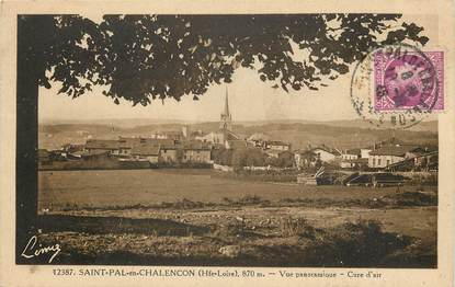 "CPA FRANCE 43 ""Saint Pal en Chalencon"""