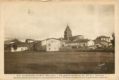 """CPA FRANCE 43 """"Saint Georges d'Aurac, vue générale méridionale"""""""