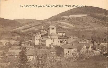 """CPA FRANCE 43 """"Saint Vert près de Champagnac le Vieux"""""""