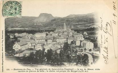 """CPA FRANCE 43 """"Env. du Puy, Saint Julien Chapteuil"""""""