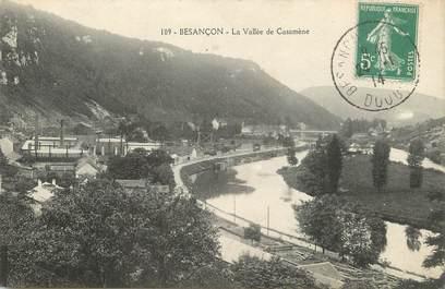 "/ CPA FRANCE 25 ""Besançon, la vallée de Casamène"""