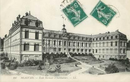 """/ CPA FRANCE 60 """"Beauvais, école normale d'instituteurs"""""""