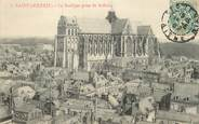 """02 Aisne / CPA FRANCE 02 """"Saint Quentin, la basilique prise du Beffroi"""""""
