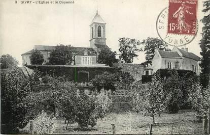 """/ CPA FRANCE 89 """"Givry, l'église et le Doyenné"""""""