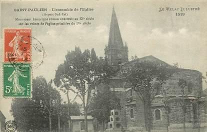 """CPA FRANCE 43 """"Saint Paulien, L'Eglise"""""""