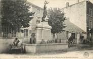 """43 Haute Loire CPA FRANCE 43 """"Rosières, monument aux morts"""""""