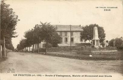 """CPA FRANCE 43 """"Le Pertuis, Rte d'Yssingeaux"""""""