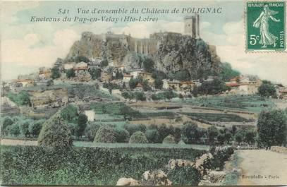 """CPA FRANCE 43 """"Château de Polignac, environs du Puy en Velay"""""""