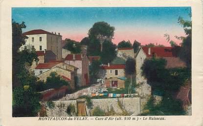 "CPA FRANCE 43 ""Montfaucon du Velay"""