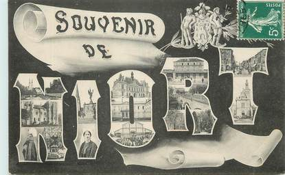 "/ CPA FRANCE 79 ""Souvenir de Niort"""