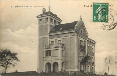 """CPA FRANCE 43 """"Château de Mézire"""""""