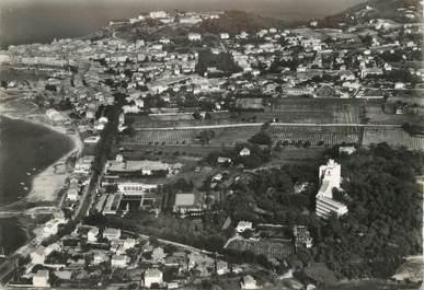 """/ CPSM FRANCE 83 """"Saint Tropez, vue aérienne sur la ville"""""""