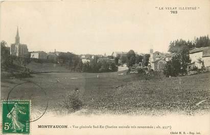"""CPA FRANCE 43 """"Montfaucon du Velay, vue générale sud est"""""""